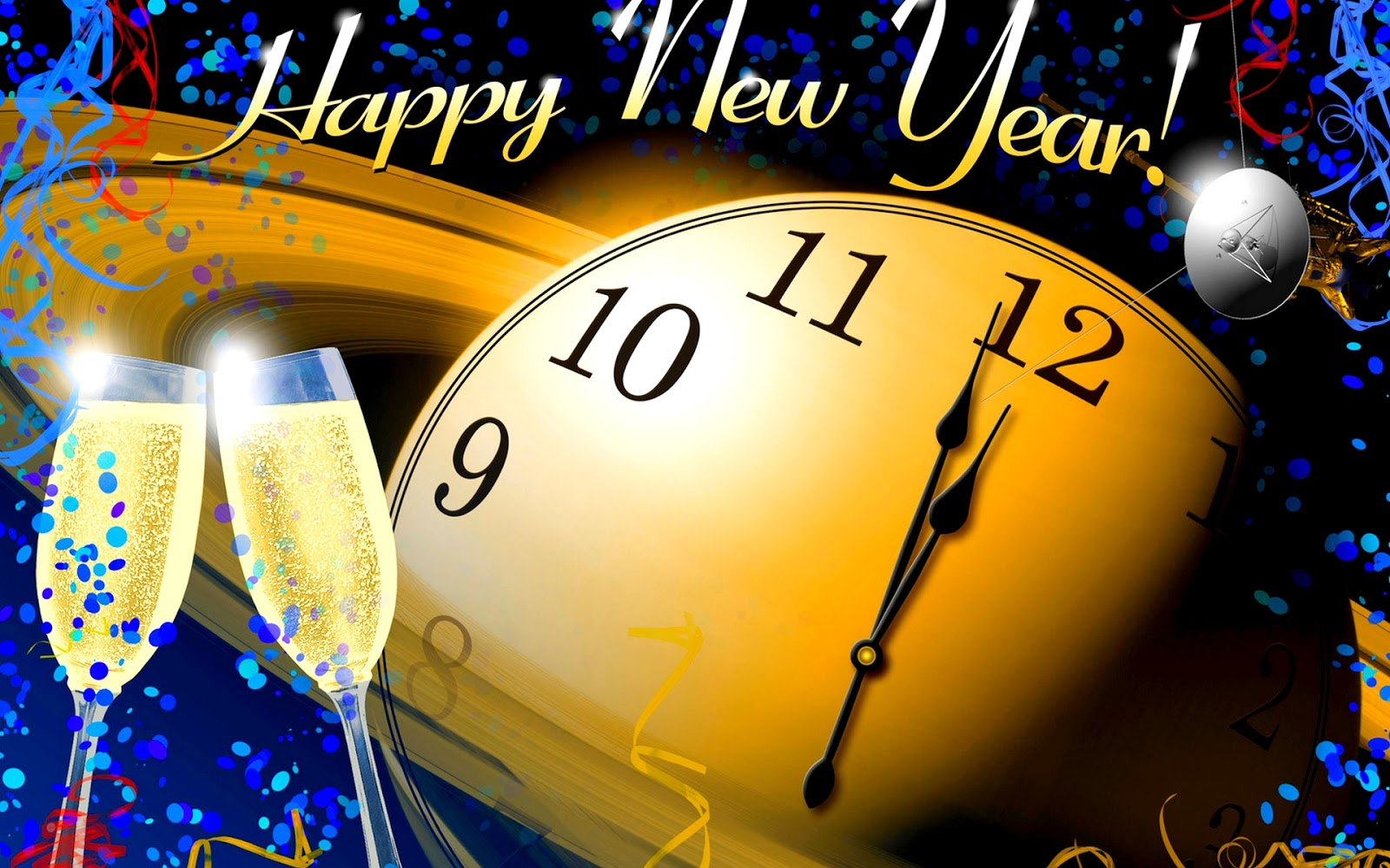 New Year Greetings Cards Cliparts Wishes Quotes Hot Images HD wallpapers 2018