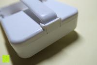 Klemme: Bonlux Bewegung aktiviert LED-WC-Nachtlicht 16 Farben ändern Batteriebetriebene automatische Sensor-LED-Nachtlicht für Badezimmer Waschraum -WC-Schüssel Sitz Lampe [Energieklasse A+]