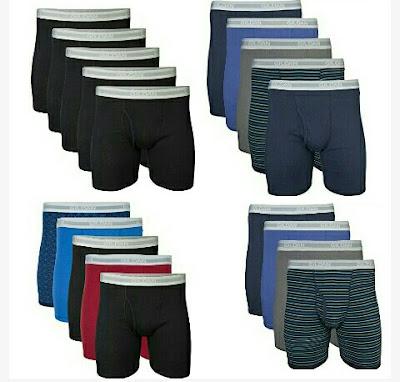 Gildan Underwear Boxers for Men