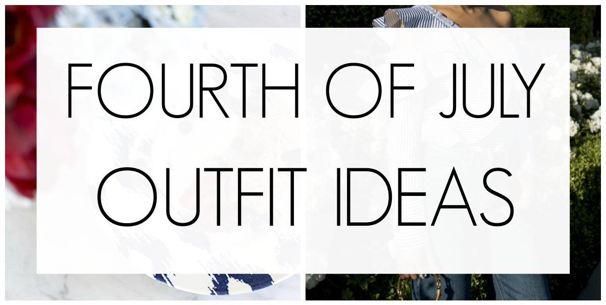 Red White & Blue Outfit Ideas to Try
