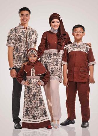 Model Baju Batik Couple Untuk Keluarga Harmonis