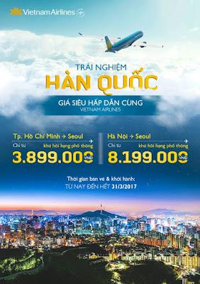 Du lịch Hàn Quốc với giá vé siêu hấp dẫn
