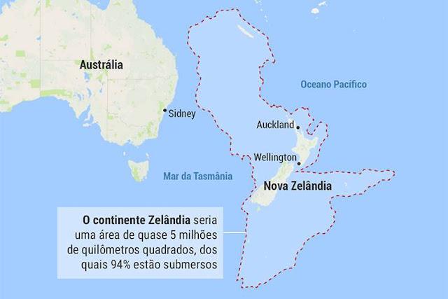 continente zelandia%2B%25281%2529 - Zelândia, o sétimo continente