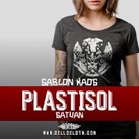 Update Kaos Satuan : Sablon Plastisol Satuan Ink Glossy and Doff