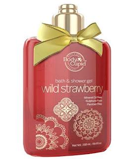 BodyCupid Wild Strawberry Shower Gel