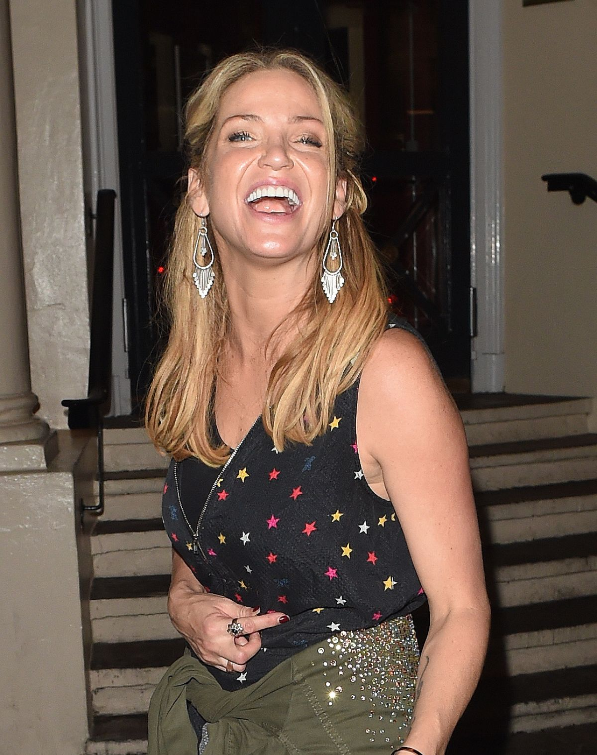 Photos of Sarah Harding out and about in night, London