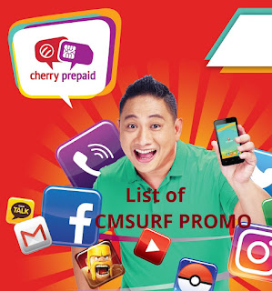 Cherry Prepaid Sim CMSURF Internet Offers - Now with Bigger MB!