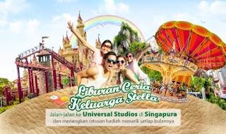 Kontes Foto Liburan Ceria Keluarga STELLA Berhadiah Liburan Ke SIngapura