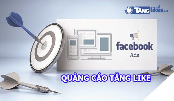 quang cao tang like facebook