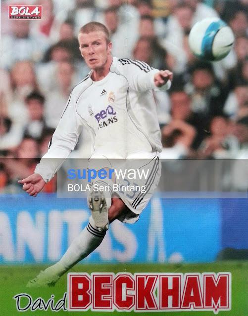 David Beckham (Real Madrid 2007)