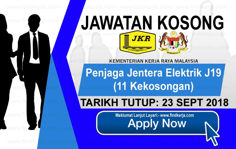 Jawatan Kerja Kosong KKR - Kementerian Kerja Raya Malaysia logo www.ohjob.info www.findkerja.com september 2018