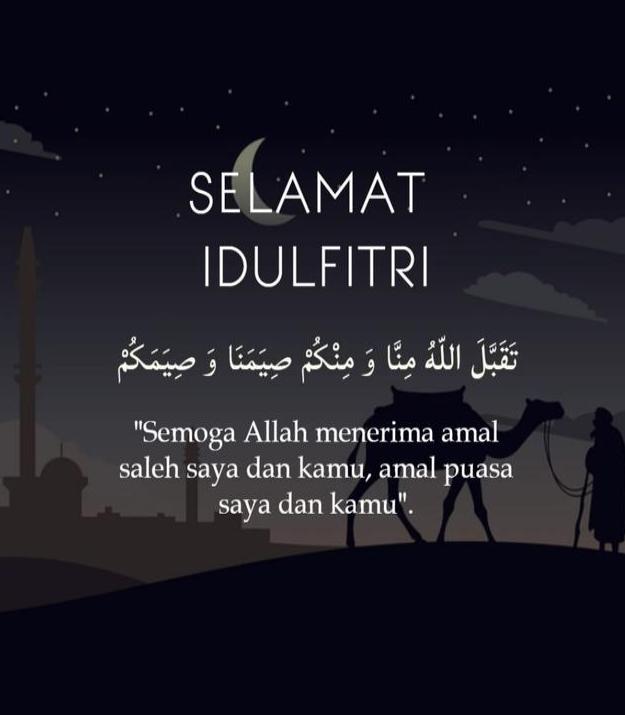 Daftar Desain kartu ucapan Selamat Lebaran & Idul Fitri