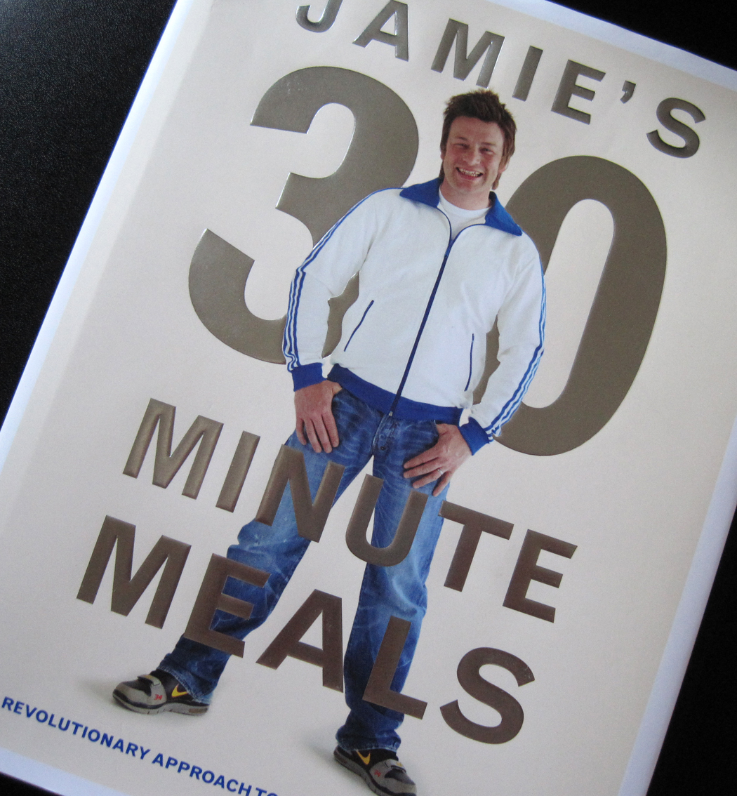 Front Cover 30 Minute Meals Book