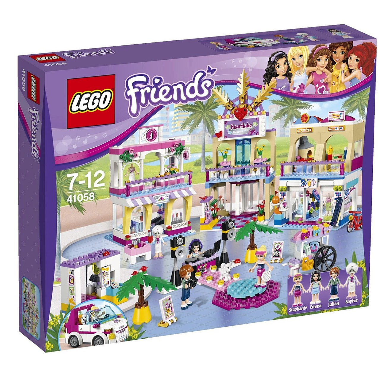 LEGO Friends 2014 Centrum Handlowe Heartbreak - MojeKlocki24.pl