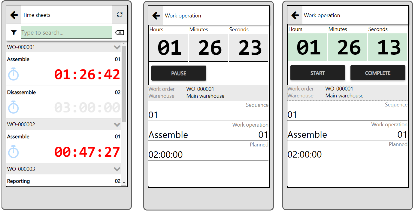 Stopwatch-Time-Sheet/Mobile-App