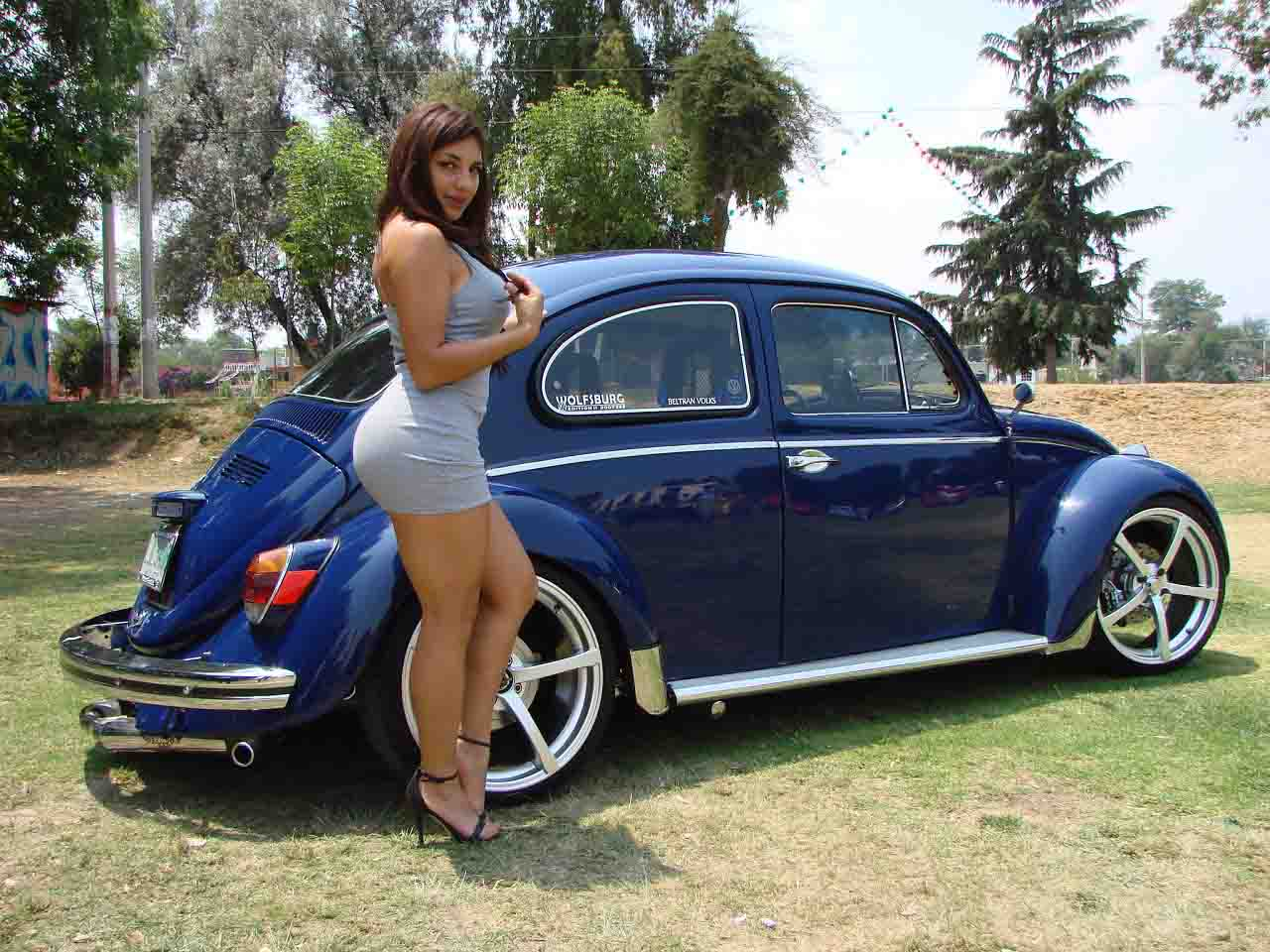 She's bad volkswagen girl love