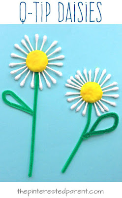 q-tip-flower-craft-for-kids