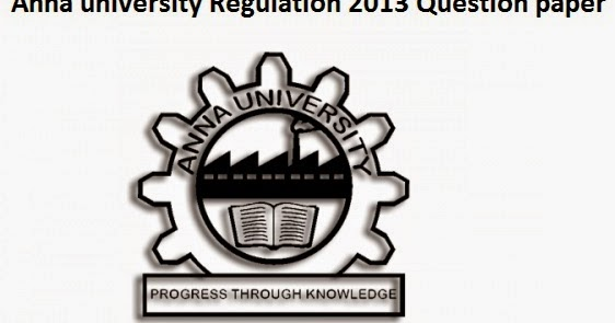 ME Regulation 2013 1st semester Previous Year Question