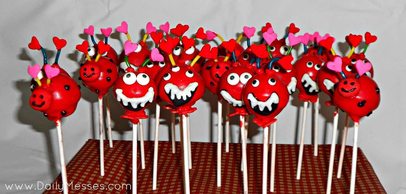 Daily Messes Valentine S Day Cake Pops