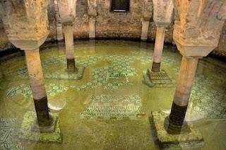 Pavimento allagato chiesa di San Francesco Ravenna