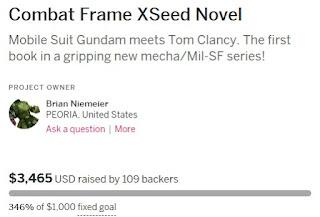 Combat Frame XSeed Indiegogo 346%