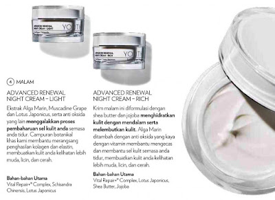 Krim Malam Skincare Youth Shaklee | Manfaat, Perbezaan dan Kelebihan Advanced Renewal Night Cream