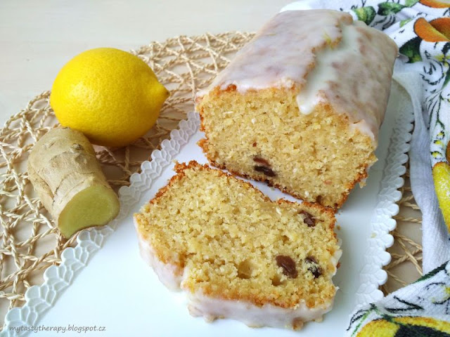 lemon-ginger sweet bread