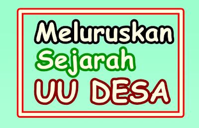 Calon Presiden No Urut 02 (Prabowo Subianto) menyatakan bahwa dirinya mengaku sebagai salah satu inisiator UU Desa.