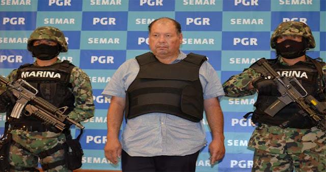 """""""El Metro 1"""" Mario Cardenas Guillen líder del Cártel del Golfo sera enviado a Estados Unidos"""