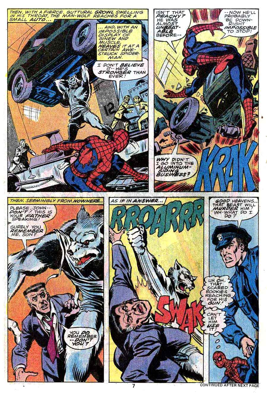 Amazing Spider-Man v1 #190 marvel comic book page art by John Byrne