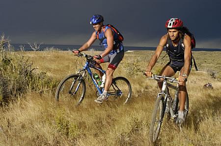 Mountainbike en Península Valdés