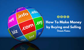 make money online buying and selling domain names