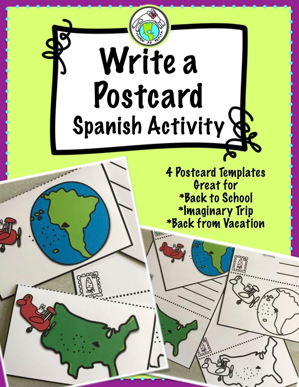 Spanish Postcard Letter.?