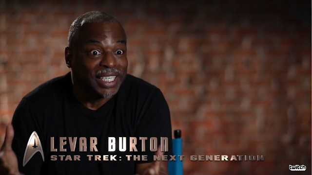 Levar Burton Star Trek The Next Generation Geordi Ubisoft 2016 E3