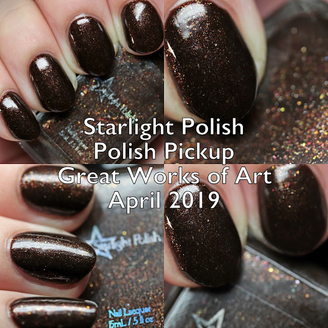 Starlight Polish Polish Pickup Great Works of Art April 2019