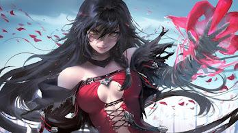 Anime, Girl, Fantasy, Warrior, Velvet Crowe, Tales of Berseria, 4K, #309