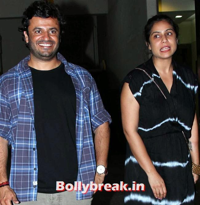 Vikas Behal with Wife