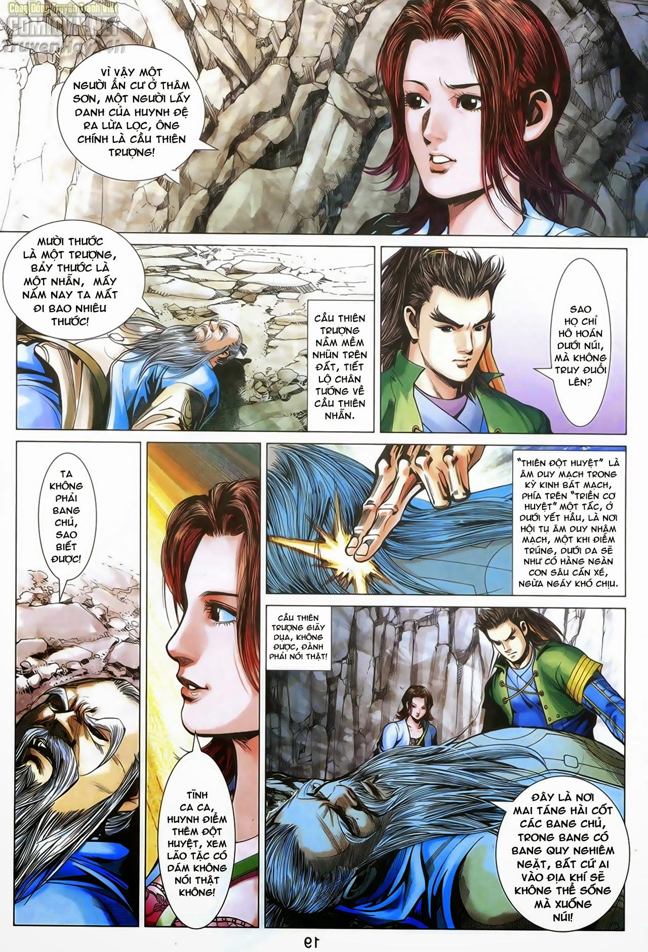 Anh Hùng Xạ Điêu anh hùng xạ đêu chap 69: hồn đoạn thiết chưởng phong trang 20