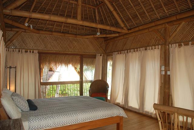 Gambar Desain Rumah/Villa Bambu Eksotik | Model Desain ...