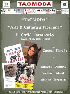 CAFFE' LETTERARIO con TAOMODA