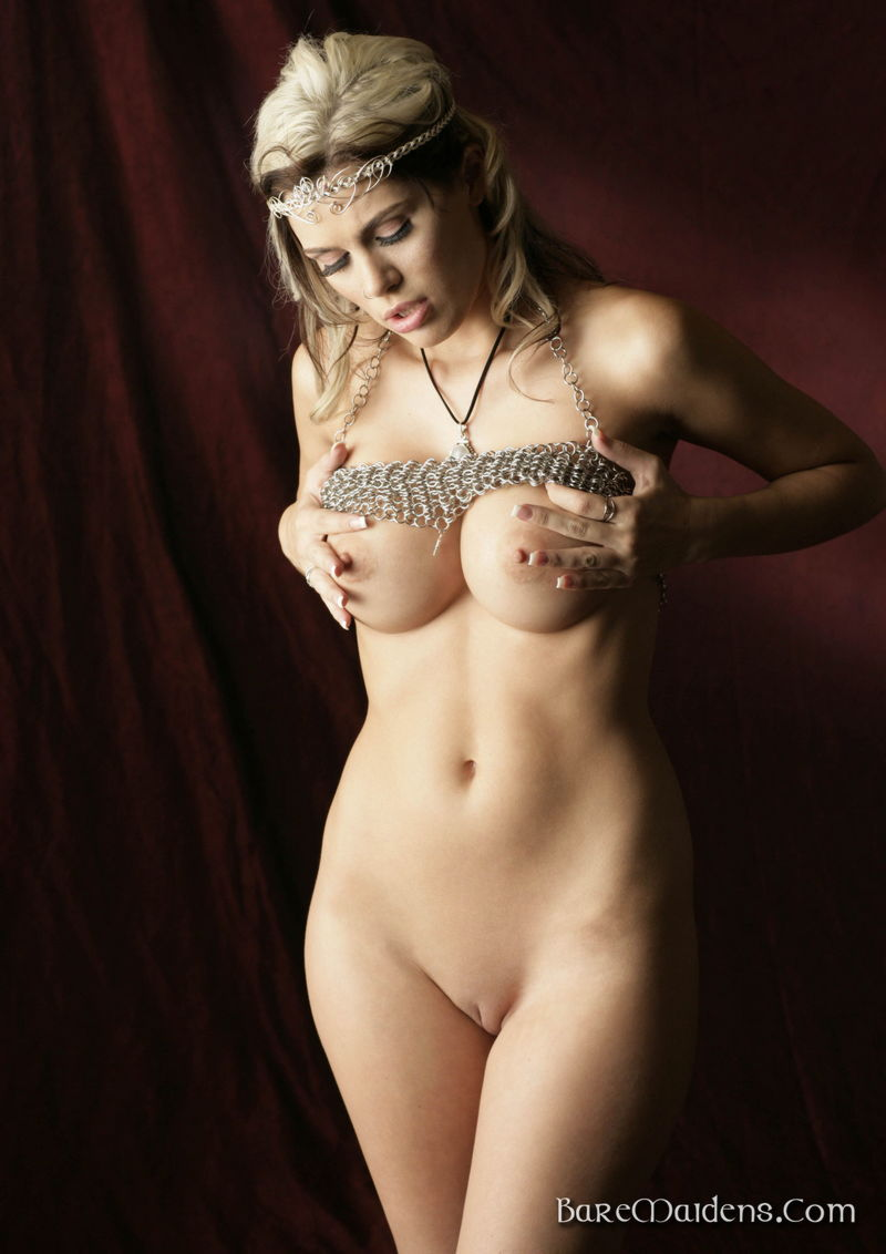 naked girls in chainmail