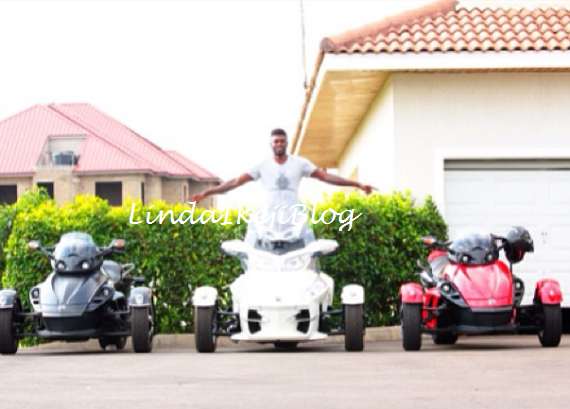 Welcome to Linda Ikeji's Blog: Emmanuel Adebayor shows off ... Emmanuel Adebayor House