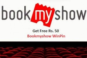 Free Rs.50 BookMyShow WinPin on Completing Short Survey