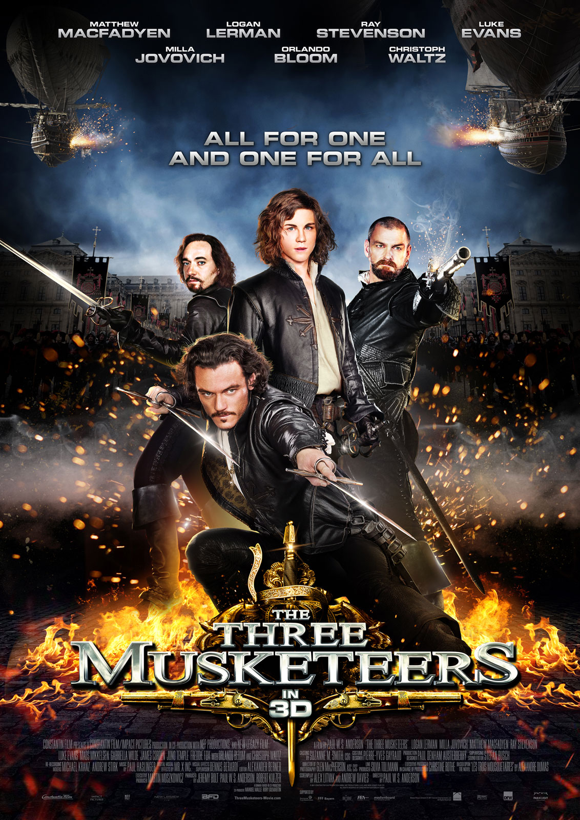 The Three Musketeers.Online