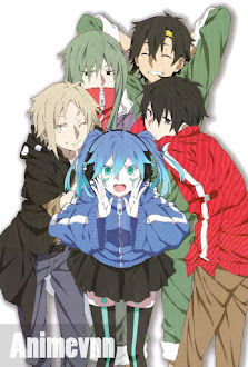 Mekakucity Actors - Kagerou Project 2014 Poster