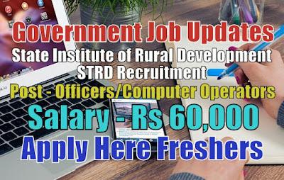 STRD Recruitment 2020