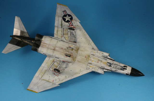 F-4B Phantom II,Eduard 1/48, la patine.
