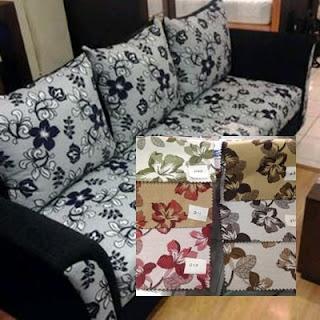 sofa ruang tamu bahan kain