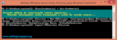 Como conectar ao Office 365 via PowerShell