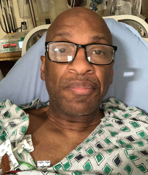 Gospel Singer Donnie McClurkin saved by angels as he survives an accident